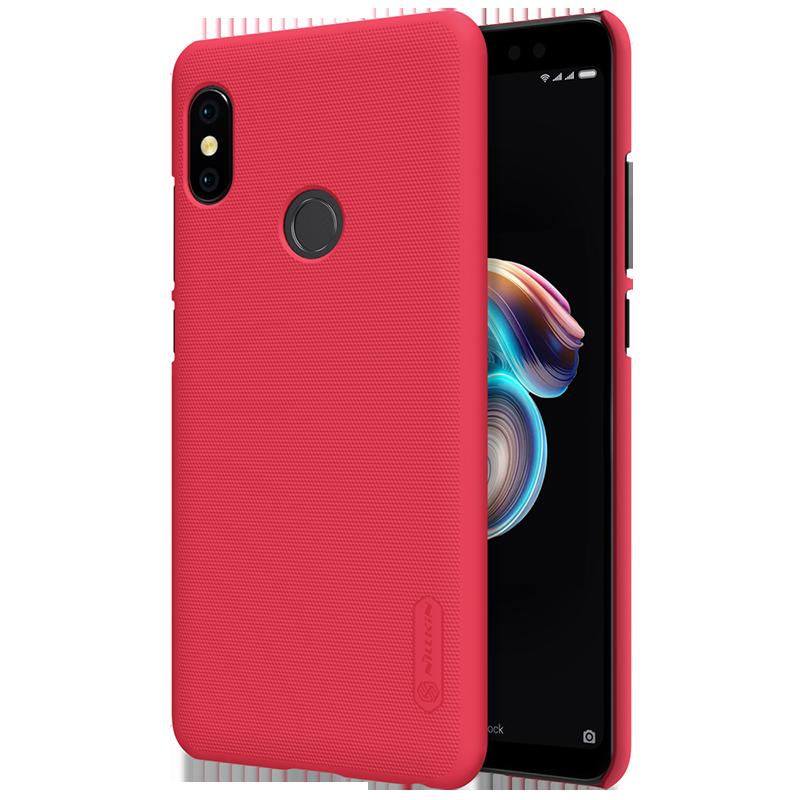 Θήκη Nillkin Frosted Shield Back Cover για Xiaomi Redmi Note 5 Ai DC - Κόκκινο