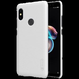 Θήκη Nillkin Frosted Shield Back Cover για Xiaomi Redmi Note 5 Ai DC - Άσπρο