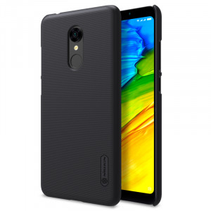 Θήκη Nillkin Frosted Shield Back Cover για Xiaomi Redmi 5 - Μαύρο