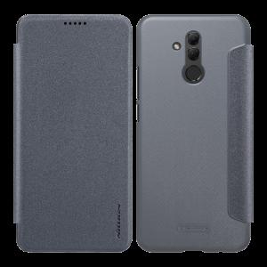 Θήκη Nillkin Sparkle Flip με πορτάκι για Huawei Mate 20 Lite - Μαύρο