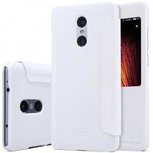 Θήκη Nillkin Sparkle Flip με πορτάκι για Xiaomi Redmi Pro - Άσπρο