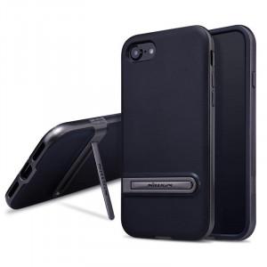 Θήκη Nillkin Youth Elegant cover case για iPhone 7 - Γκρι / Μαύρο
