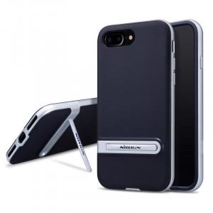 Θήκη Nillkin Youth Elegant cover case για iPhone 7 Plus - Ασημί / Μαύρο