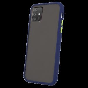 Θήκη Back Cover Colored Buttons για Samsung Galaxy A71 - Μπλε