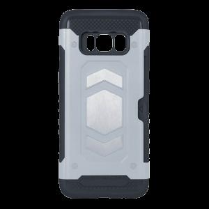 Θήκη Defender Magnetic Back Cover για Apple iPhone XS MAX - Ασημί