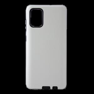 Θήκη Back Cover Defender Smooth για Samsung Galaxy A71 - Ασημί