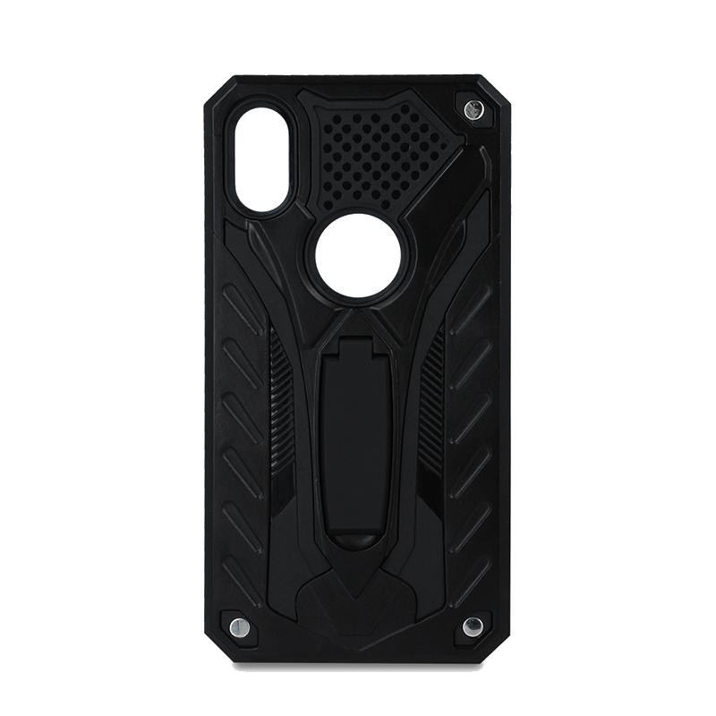 Θήκη Defender Stand Back Cover για Apple iPhone XS MAX - Μαύρο
