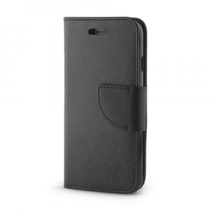 Θήκη Flip με Πορτάκι Fancy Book για Samsung Galaxy S10e - Μαύρο