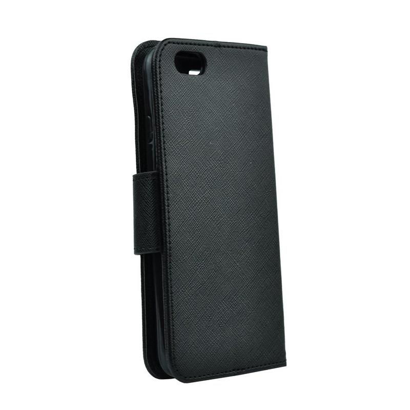 Θήκη Flip με Πορτάκι Fancy Book για Xiaomi Redmi 8A - Μαύρο