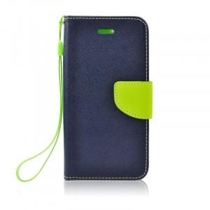 Θήκη Flip με Πορτάκι Fancy Book για Xiaomi Redmi 8A - Μπλε/Πράσινο