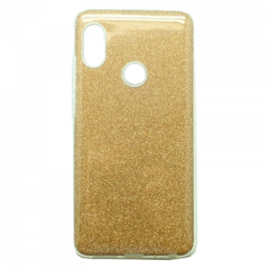 Θήκη Back Cover Glitter 3 in 1 για Xiaomi Redmi Note 7 - Χρυσό