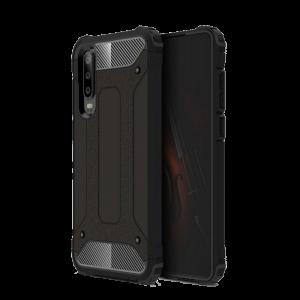 Θήκη Hybrid Armor Back Cover για Huawei P30 - Μαύρο