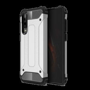 Θήκη Hybrid Armor Back Cover για Huawei P30 - Ασημί
