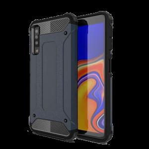 Θήκη Hybrid Armor Back Cover για Samsung Galaxy A7 2018 - Μπλε