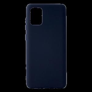 Θήκη Back Cover Matt Σιλικόνης για Samsung Galaxy A71 - Μπλε