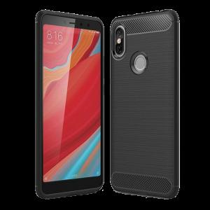 Θήκη Carbon Flexible Back Cover για Xiaomi Redmi S2 - Μαύρο