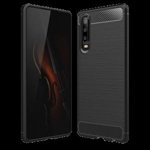 Θήκη Carbon Flexible Back Cover για Huawei P30 - Μαύρο