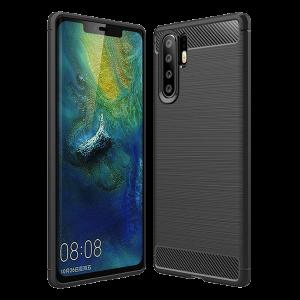 Θήκη Carbon Flexible Back Cover για Huawei P30 Pro - Μαύρο