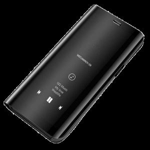 Θήκη Clear View για Samsung Galaxy A70 - Μαύρο