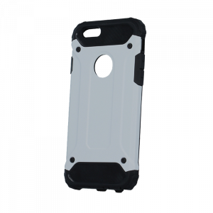 Θήκη Defender II Back Cover για Apple iPhone 8 - Ασημί