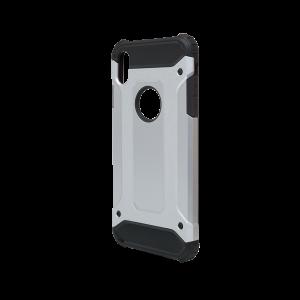 Θήκη Defender II Back Cover για Apple iPhone XS Max - Ασημί