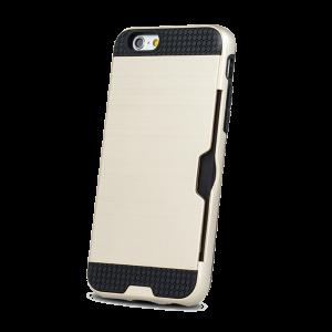 Θήκη Defender Card Back Cover για Samsung Galaxy J6 2018 - Χρυσό