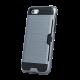 Θήκη Defender Card Back Cover για Apple iPhone X - Ασημί