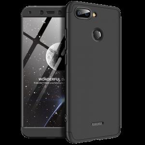 Θήκη Full Cover 360 για Xiaomi Redmi 6 - Μαύρο