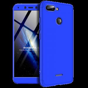 Θήκη Full Cover 360 για Xiaomi Redmi 6 - Μπλε