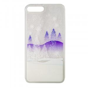 Θήκη Liquid Glitter Winter Snow 2 για Apple iPhone 7 Plus & iPhone 8 Plus