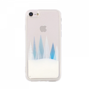 Θήκη Liquid Glitter Winter Snow 1 για Apple iPhone XS MAX