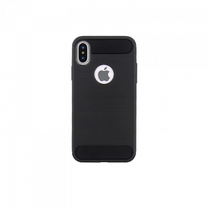 Θήκη Back Cover Simple Black για Apple iPhone X / XS - Μαύρο