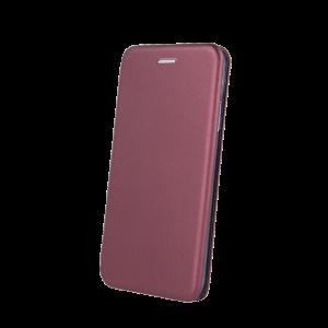 Θήκη Flip με Πορτάκι Smart Diva για Xiaomi Mi Note 10 - Burgundy