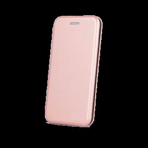Θήκη Flip με Πορτάκι Smart Diva για Xiaomi Mi Note 10 - Ροζέ Χρυσό