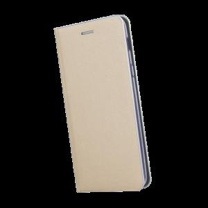 Θήκη Flip με Πορτάκι Smart Venus για Huawei P20 Pro / P20 Plus - Χρυσό