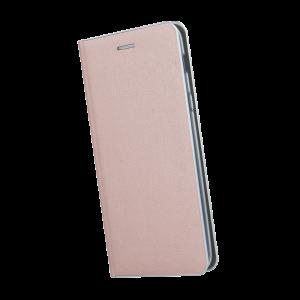 Θήκη Flip με Πορτάκι Smart Venus για Apple iPhone XS MAX - Ροζέ Χρυσό