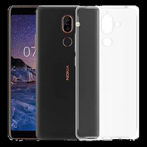 Θήκη Back Cover TPU για Nokia 7 Plus - Διάφανο