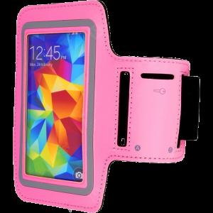 """Θήκη Μπράτσου για Smartphones 5.1"""" - Ροζ"""