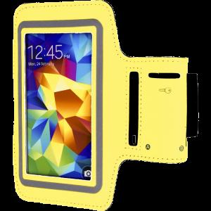 """Θήκη Μπράτσου για Smartphones 5.1"""" - Κίτρινο"""