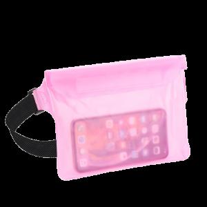 Αδιάβροχη Θήκη Τσαντάκι για Smartphones - Ροζ