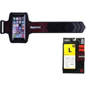 """Θήκη Μπράτσου Remax για Smartphones έως 5,5"""" - Κόκκινο"""