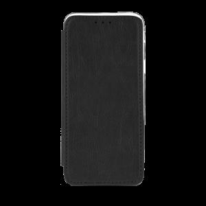 Θήκη Flip με Πορτάκι Smart Prime για Xiaomi Redmi 6A - Μαύρο