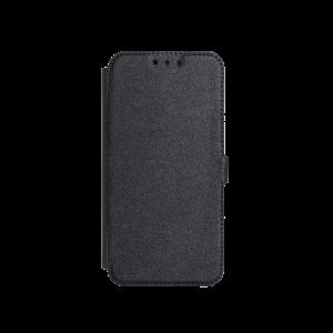 Θήκη Flip με Πορτάκι Smart Pocket για Huawei Mate 20 Lite - Μαύρο