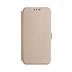 Θήκη Flip με Πορτάκι Smart Pocket για Apple iPhone 7 & iPhone 8 - Χρυσό