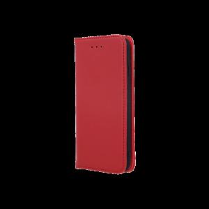 Θήκη Flip με Πορτάκι Smart Pro για Xiaomi Redmi Note 8 Pro - Κόκκινο