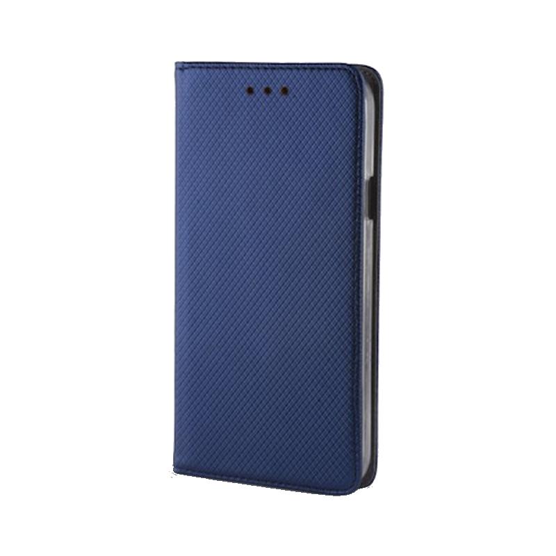Θήκη Flip με Πορτάκι Smart Magnet για Apple iPhone XS MAX - Μπλε