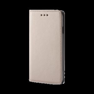 Θήκη Flip με Πορτάκι Smart Magnet για Nokia 6 - Χρυσό