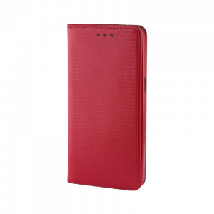 Θήκη Flip με Πορτάκι Smart Magnet για Xiaomi Redmi 8A - Κόκκινο