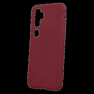 Θήκη Back Cover Matt TPU για Xiaomi Mi Note 10 - Burgundy