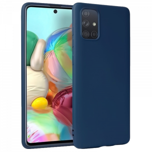 Θήκη Back Cover Matt TPU για Samsung Galaxy A71 - Μπλε